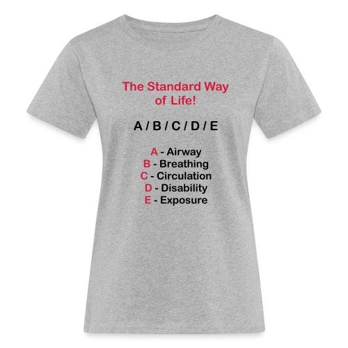 Rettungsdienst ABC Schema - Frauen Bio-T-Shirt