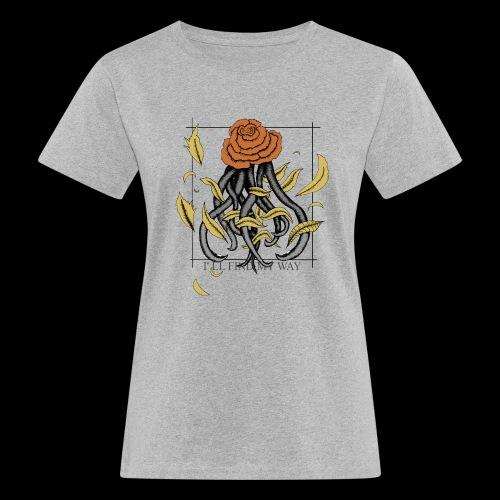 Rose octopus - T-shirt bio Femme
