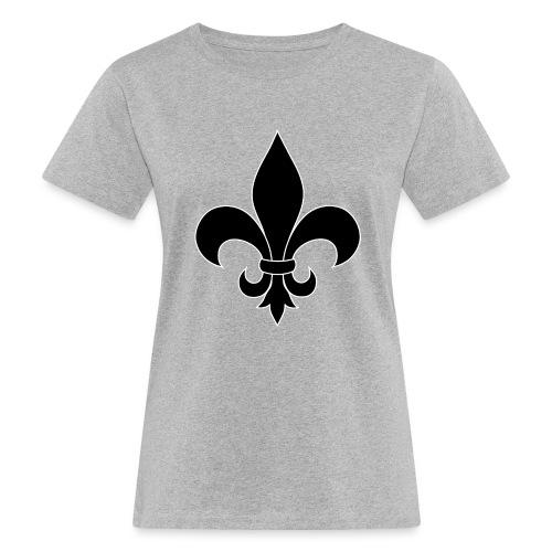 ranskan lilja - Naisten luonnonmukainen t-paita