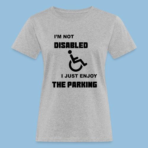 notdisabled1 - Vrouwen Bio-T-shirt