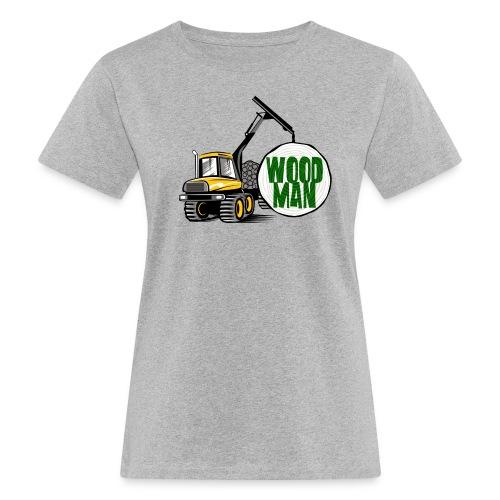 Woodman kuormatraktori, t paidat, hupparit, lahjat - Naisten luonnonmukainen t-paita