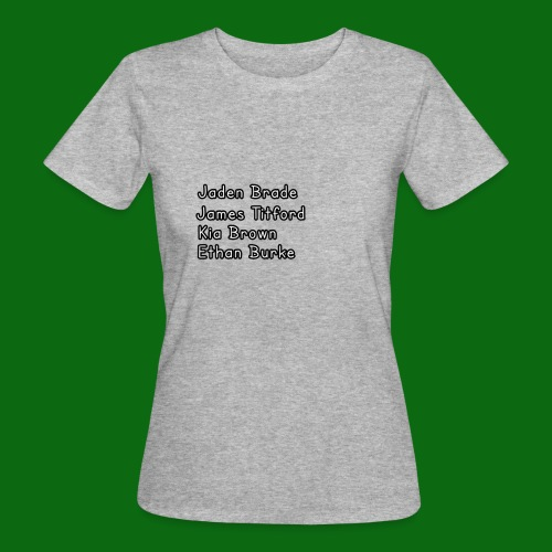 Glog names - Women's Organic T-Shirt
