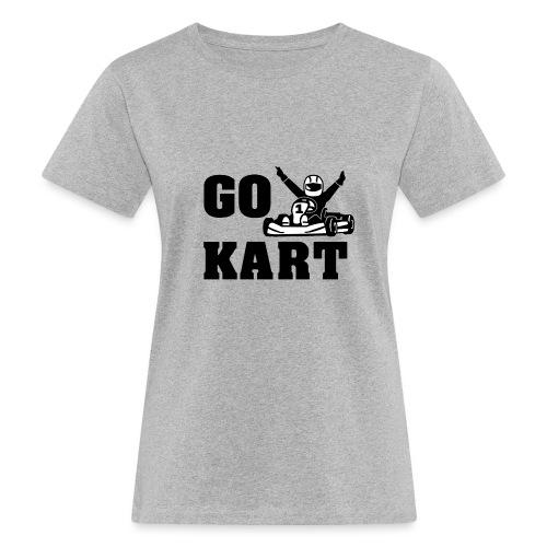 Go kart - T-shirt bio Femme