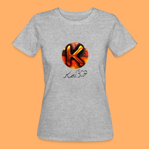 Kai_307 - Profilbild + Unterschrift Schwarz - Frauen Bio-T-Shirt