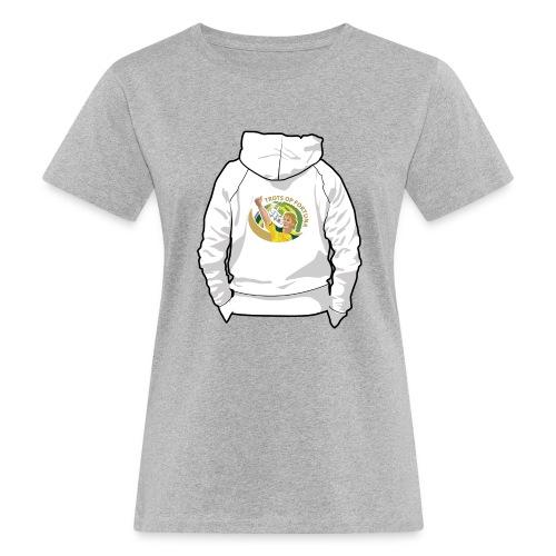 hoodyback - Vrouwen Bio-T-shirt