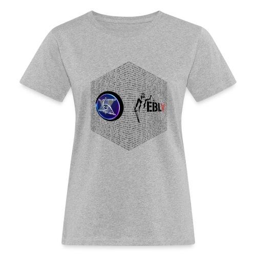 disen o dos canales cubo binario logos delante - Women's Organic T-Shirt
