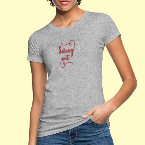 Swing Out Lindy Hop Vintage - Swing Retro - Frauen Bio-T-Shirt