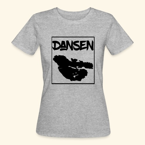 Dansen Karta - Ekologisk T-shirt dam