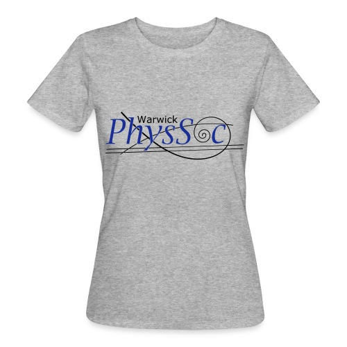 Official Warwick PhysSoc T Shirt - Women's Organic T-Shirt