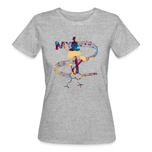 My Psilocybin (Dark) - Ekologisk T-shirt dam