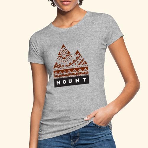 Mountains of the Heart by Te-Moana - Frauen Bio-T-Shirt