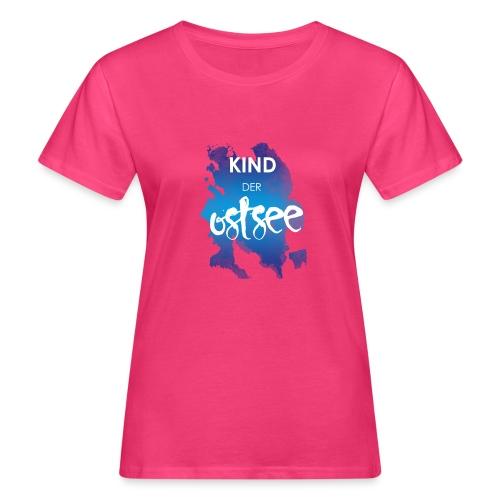 Kind der Ostsee - Frauen Bio-T-Shirt