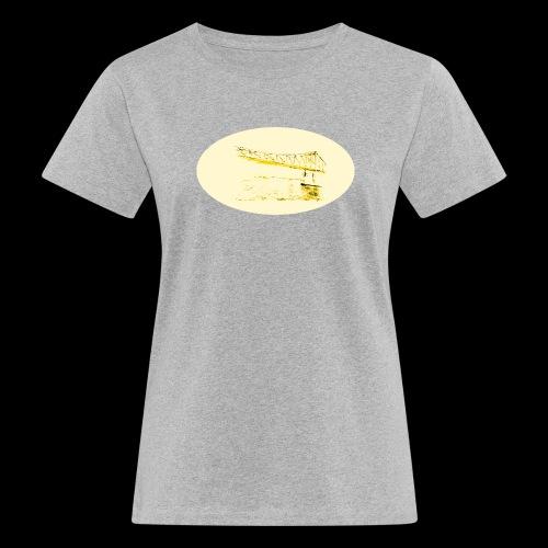 Eiserner Steg Gelb - Frauen Bio-T-Shirt