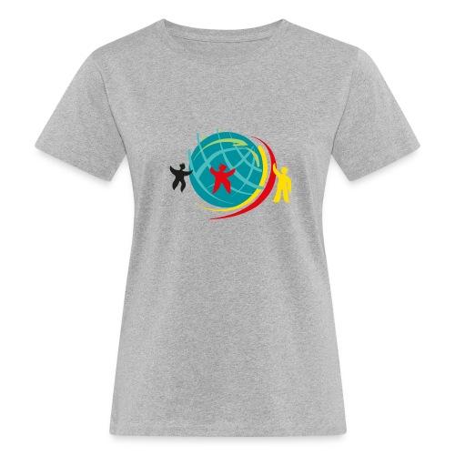 Abstand halten - Frauen Bio-T-Shirt
