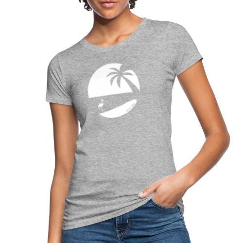 Logo French Floridian blanc - T-shirt bio Femme