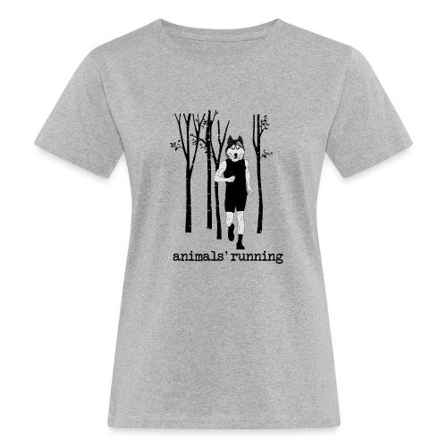 Loup running - T-shirt bio Femme