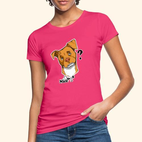 Nice Dogs pitbull 2 - T-shirt ecologica da donna