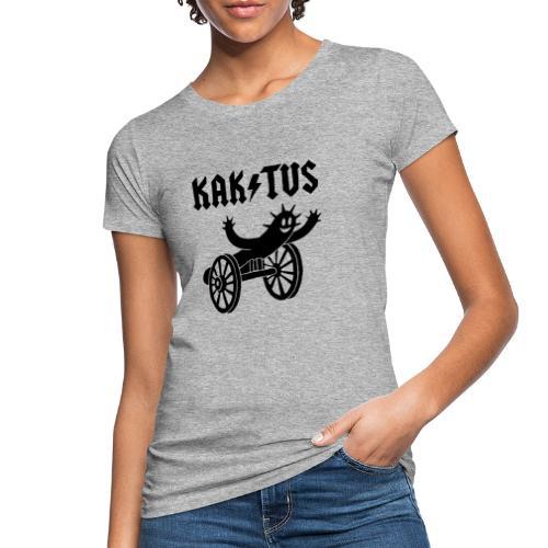 Kaktus Rock - Frauen Bio-T-Shirt