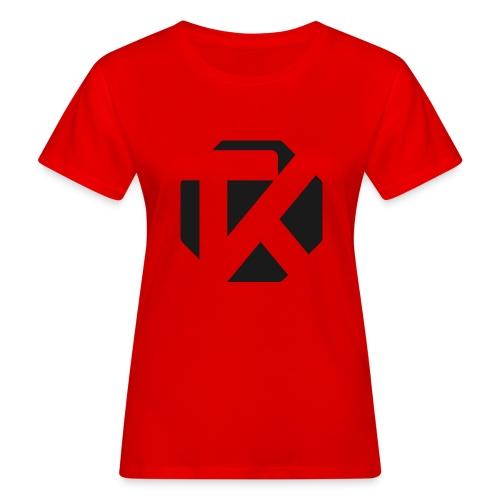 Logo TK Noir - T-shirt bio Femme
