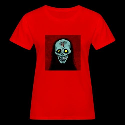 Ghost skull - Women's Organic T-Shirt