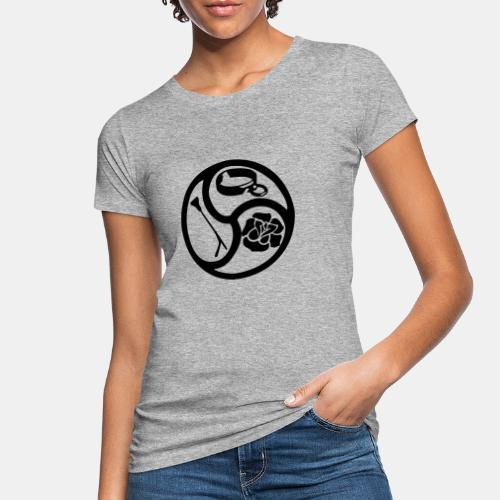 Triskele triskelion BDSM Emblem HiRes 1 color - Frauen Bio-T-Shirt