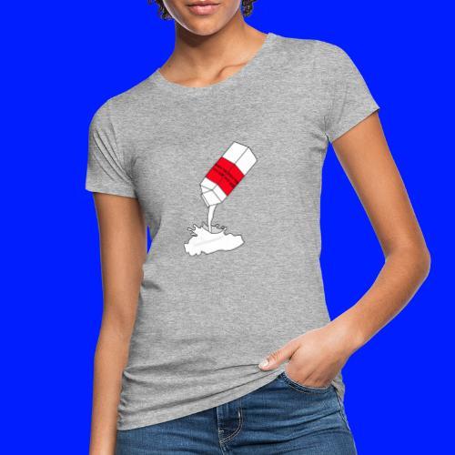 milk for rockstars - Ekologisk T-shirt dam