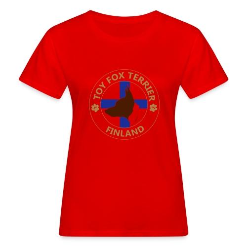 Toy Fox Terrier- Finland - Naisten luonnonmukainen t-paita