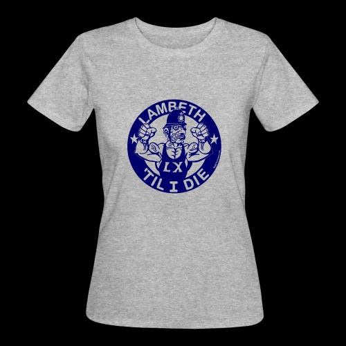 LAMBETH - NAVY BLUE - Women's Organic T-Shirt