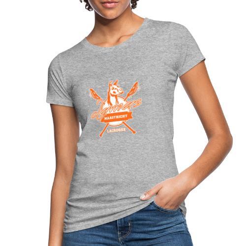 Llamas - Maastricht Lacrosse - Oranje - Vrouwen Bio-T-shirt