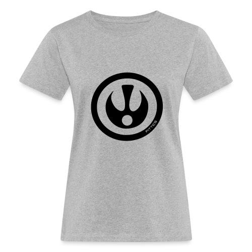 FITTICS DARK BLUE SHIELD - Women's Organic T-Shirt