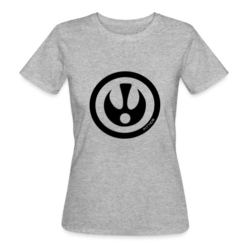 FITTICS SHIELD White - Women's Organic T-Shirt