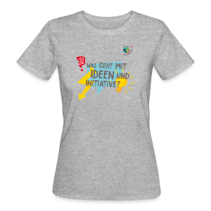 IDEEN & INITIATIVE - Frauen Bio-T-Shirt