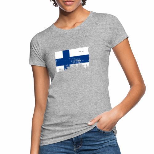 Suomen lippu, Finnish flag T-shirts 151 Products - Naisten luonnonmukainen t-paita