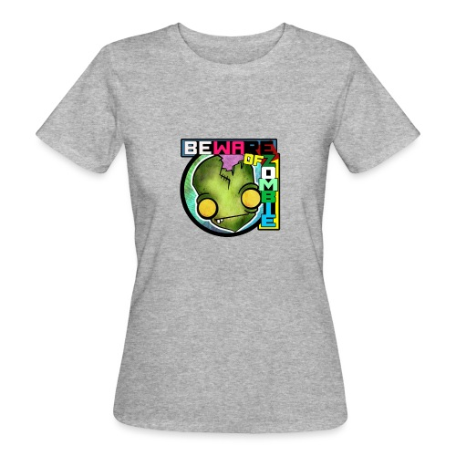 Beware of zombie - Camiseta ecológica mujer