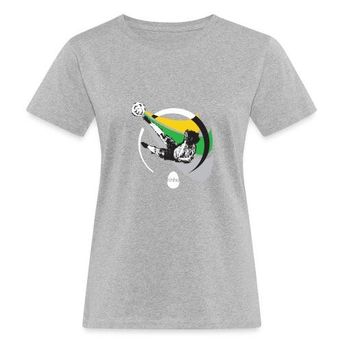 Ninho Over Footbal - T-shirt ecologica da donna