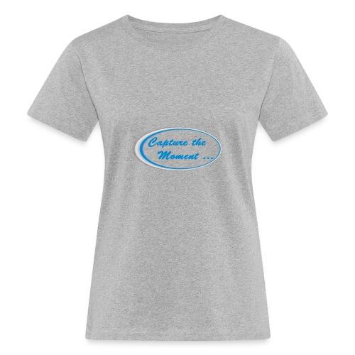 Logo capture the moment - Women's Organic T-Shirt