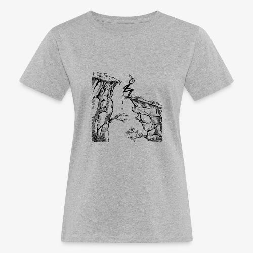 Schluchtenscheisser - Frauen Bio-T-Shirt
