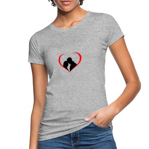 amore - Love - T-shirt ecologica da donna