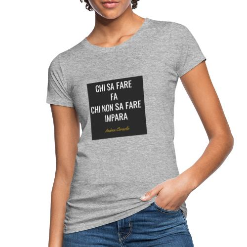 Ciraolo - T-shirt ecologica da donna