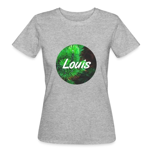 Louis round-logo - Frauen Bio-T-Shirt
