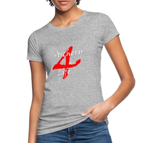 Archery4Life white - Frauen Bio-T-Shirt