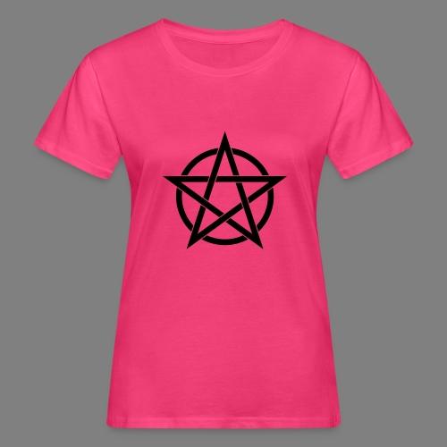 pentagramm - Frauen Bio-T-Shirt