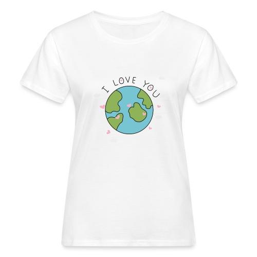 iloveyou - T-shirt ecologica da donna