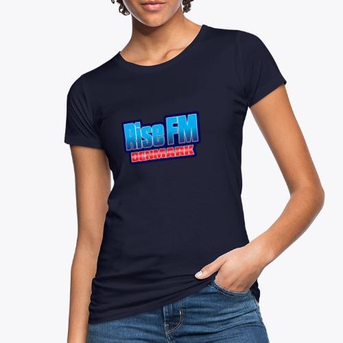 Rise FM Denmark Text Only Logo - Women's Organic T-Shirt