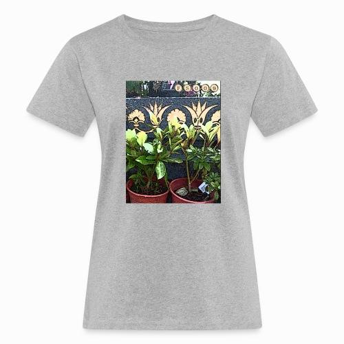 Flower illusion for Leila in Paris - Women's Organic T-Shirt