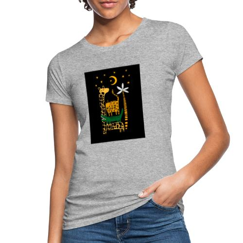 animals at night - Women's Organic T-Shirt
