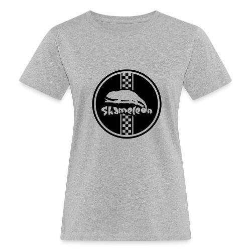 skameleon Logo - Frauen Bio-T-Shirt