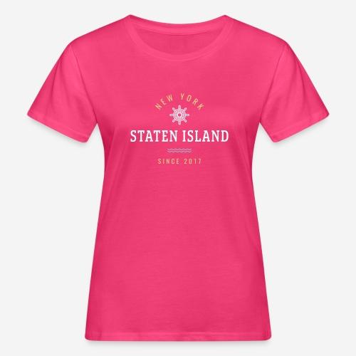 NWE YORK - STATEN ISLAND - T-shirt ecologica da donna