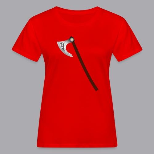 Wikinger Beil - Frauen Bio-T-Shirt