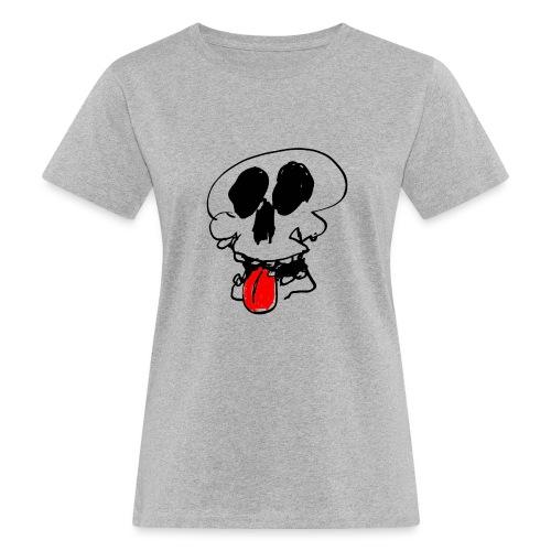 Crâne tire la langue - T-shirt bio Femme